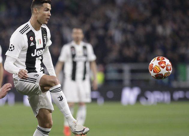 Cristiano Ronaldo se postaral o úvodní gól Staré dámy