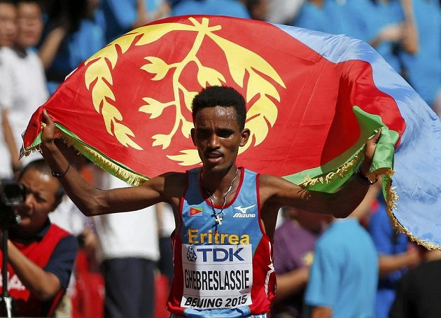 Ghirmay Ghebreslassie, vítěz mezi maratónci.
