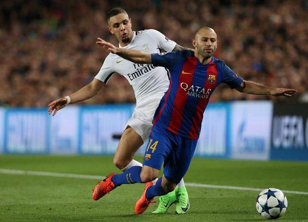 Barcelonský Javier Mascherano po odvetném osmifinále Ligy mistrů přiznal, že PSG měl na Nou Campu kopat penaltu, protože Argentinec fauloval v pokutovém území. Sudí ale nepískal a postup slaví Barcelona.