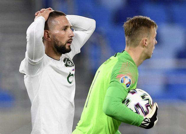 Fotbalisté Slovenska rozhodli o svém vítězství po penaltovém rozstřelu