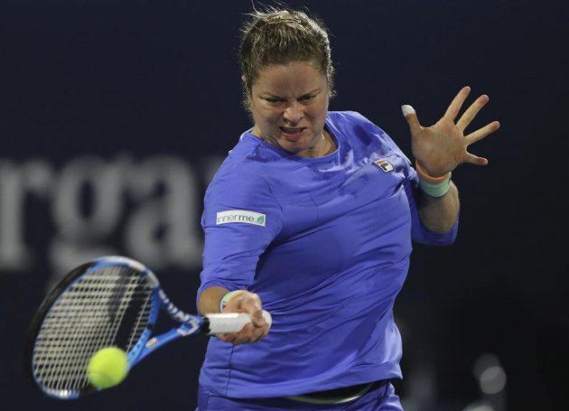 Čtyřnásobná grandslamová šampionka Clijstersová se vrátila na kurty po sedmileté pauze.
