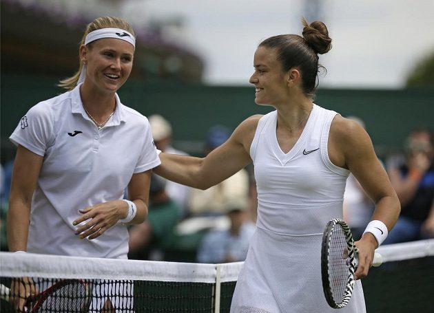 Tenistka Marie Bouzková skončila při své premiéře ve Wimbledonu ve druhém kole. S 31. nasazenou Marií Sakkariovou z Řecka prohrála.