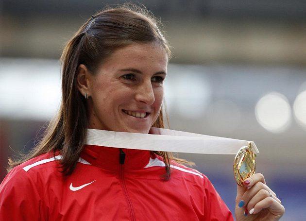 Mistryně světa v běhu na 400 metrů překážek Zuzana Hejnová