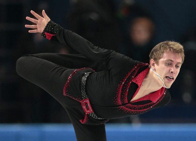 Krasobruslař Michal Březina je po krátkém programu olympijské soutěže v Soči dvanáctý.