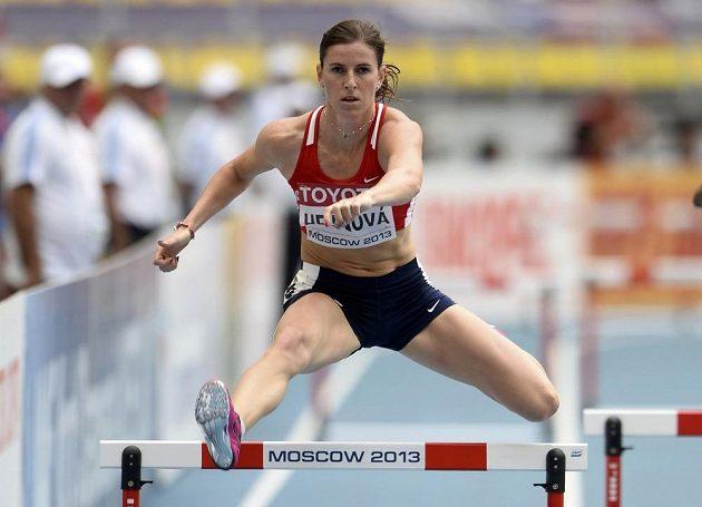 Zuzana Hejnová si postup do semifinále zajistila s naprostým přehledem.