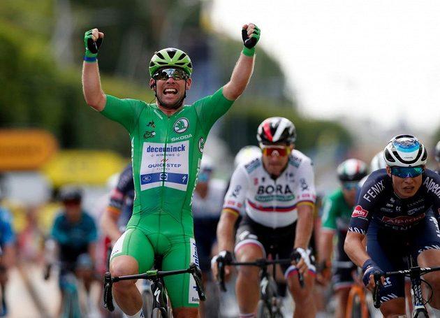 Britský cyklista Mark Cavendish vyhrál na Tour de France druhou spurtérskou etapu za sebou.