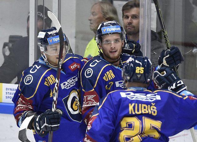 Zprava Pavel Kubiš ze Zlína, autor gólu Antonín Honejsek ze Zlína a Jan Dufek ze Zlína.