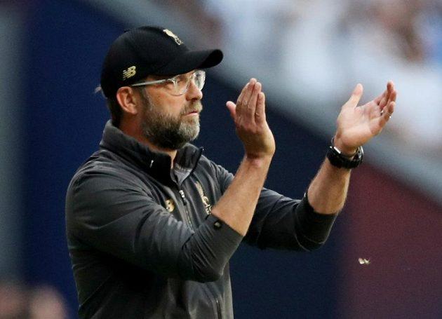 Liverpoolský manažer Jürgen Klopp během finále Ligy mistrů.