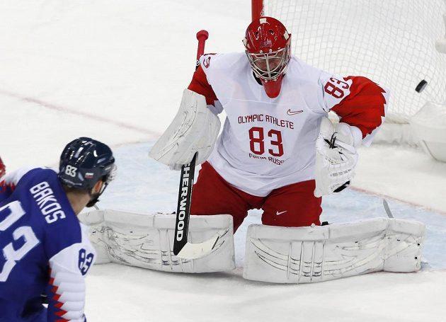 Martin Bakoš se nemýlil, Vasilij Kosečkin neměl šanci. Slovensko srovnalo na 2:2 utkání s výběrem.