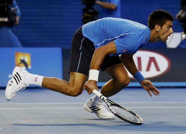 Novak Djokovič v semifinále Australian Open.