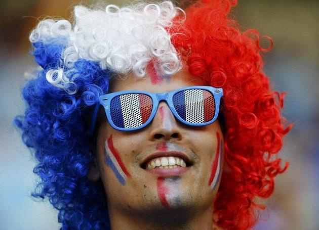 Francouzští fanoušci v postup svého týmu na turnaji pevně věří.