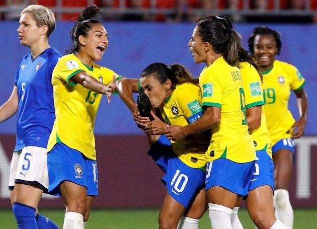 Brazilkám stačila na vítězství jediná branka