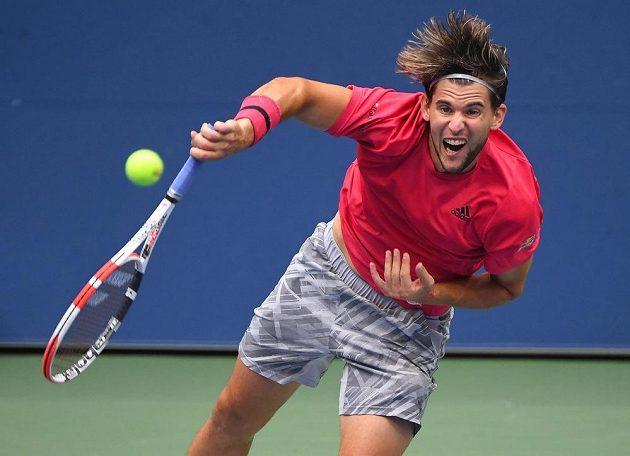 Dominic Thiem ve finále US Open.