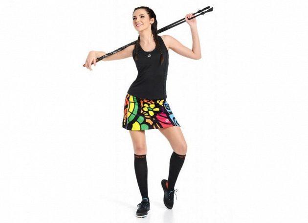 Sportovní sukně od Nessi přinese změnu, navíc pobaví okolí.