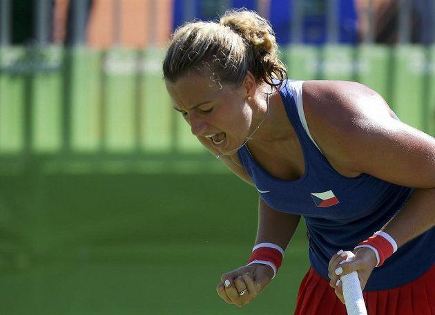 Česká jednička Petra Kvitová má první medaili z olympijských her. V Riu vybojovala bronz.