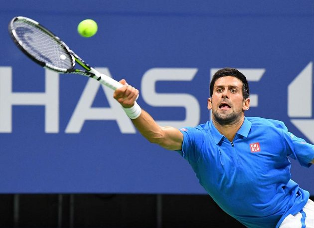 Novak Djokovič na US Open.