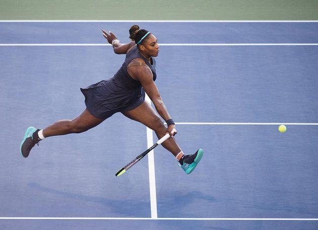 Serena Williamsová ve finále turnaje v Torontu