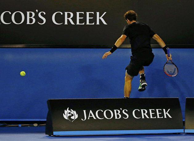 Andy Murray v semifinále Australian Open bojoval jako lev. Žádný míček pro něj nebyl ztracený.