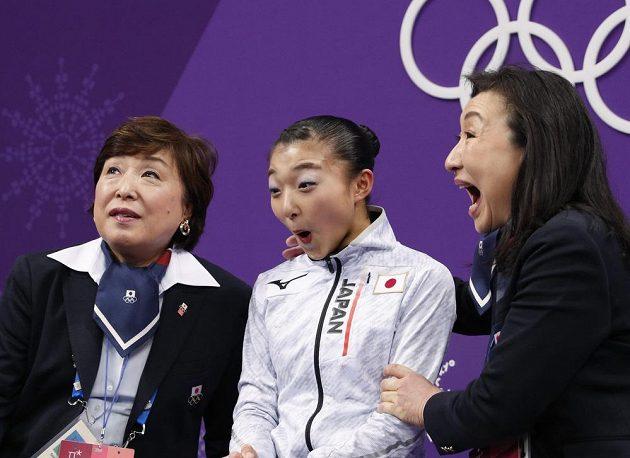 Japonka Kaori Sakamotová předvedla na olympiádě parádní krátký program.