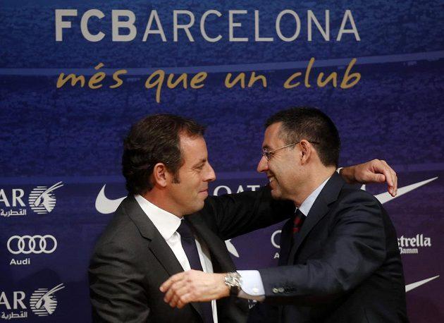 Řízení Barcelony předal do rukou Josepa Marii Bartomeua.