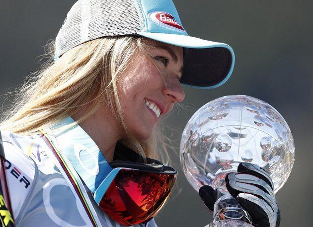 Americká lyžařská hvězda Mikaela Shiffrinová si připsala další rekord. Vydělala dvacet milionů korun.