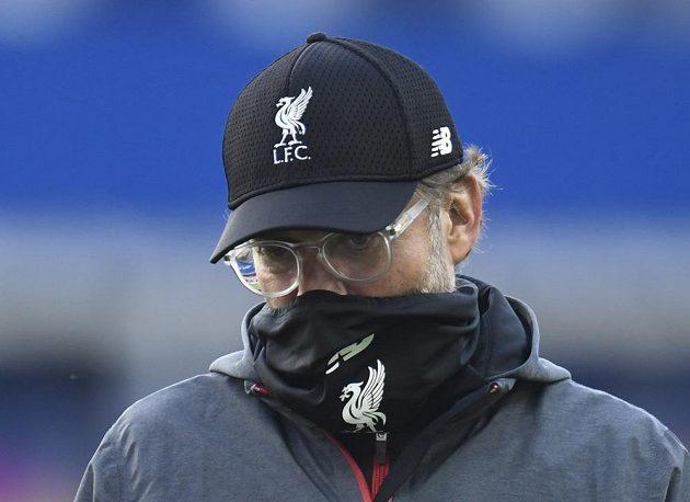 Manažer fotbalového Liverpoolu Jürgen Klopp po derby s Evertonem výhru neslavil. O další krůček se ale Reds přiblížili vysněnému mistrovskému titulu.