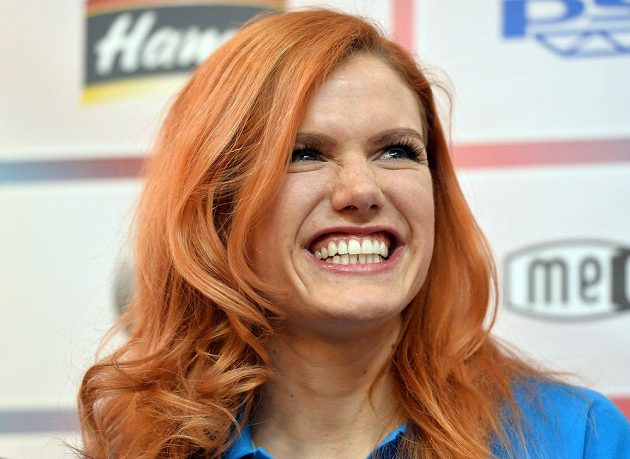 Biatlonistka Gabriela Soukalová po návratu z finále Světového poháru v Chanty-Mansijsku.