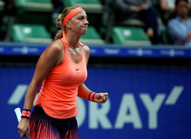 Česká tenistka Petra Kvitová na Portoričanku Mónicu Puigovou na turnaji v Portoriku nestačila.
