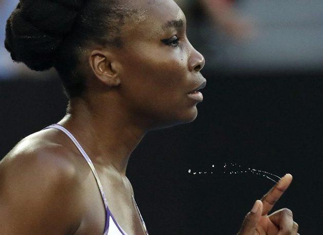 Venus Williamsové ve finále Australian open.