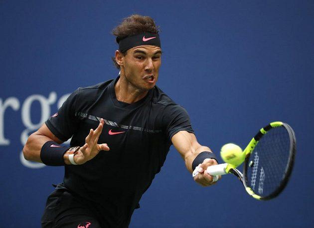 Rafael Nadal ve finále US Open.