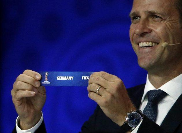 Oliver Bierhoff vylosoval Německo do skupiny C, kde se představí i Česká republika.
