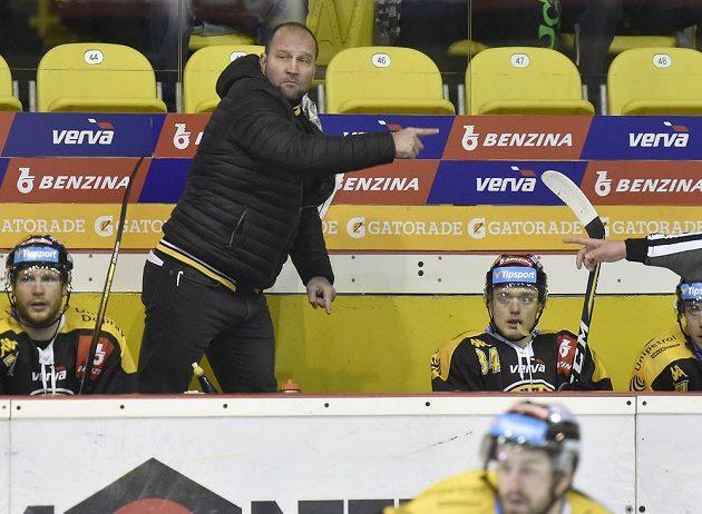 Hlavní trenér Litvínova Jiří Šlégr.