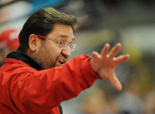 Olomoucký trenér Petr Fiala.