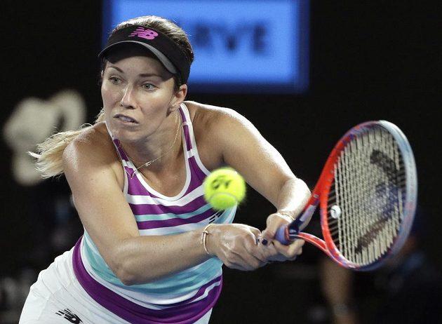 Američanka Danielle Collinsová na českou tenistku v semifinále Australian Open nestačila.