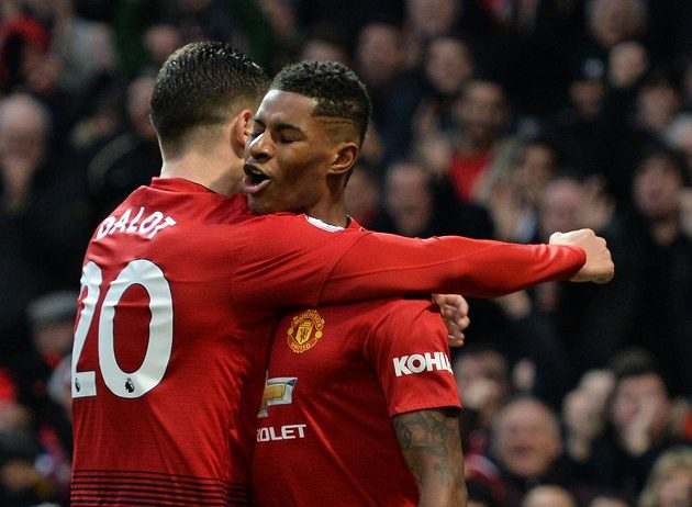 Fotbalisté Manchesteru United nazaváhali ani proti Brightonu