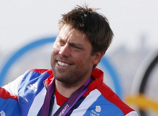 Andrew Simpson na olympiádě v Londýně.