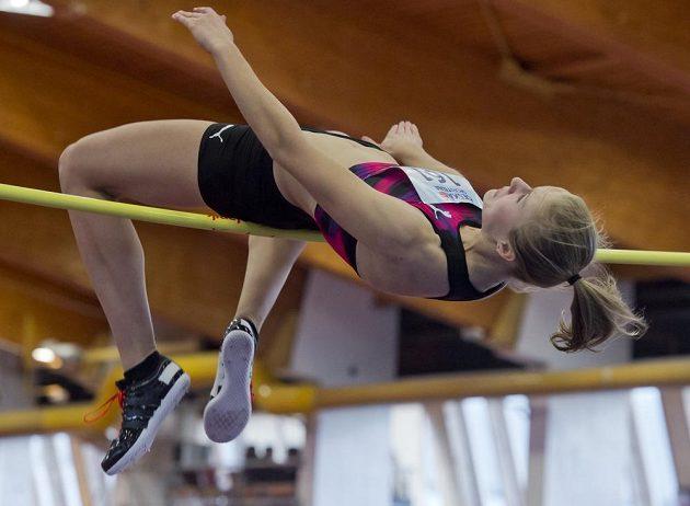 Michaela Hrubá zvítězila na halovém mistrovství republiky výkonem 186 cm.