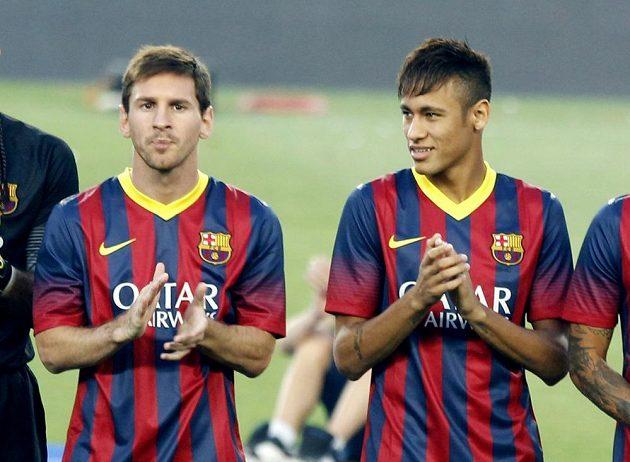 Konkurenti, nebo parťáci? Jak se vyvine barcelonská spolupráce Messiho s Neymarem, se teprve ukáže.