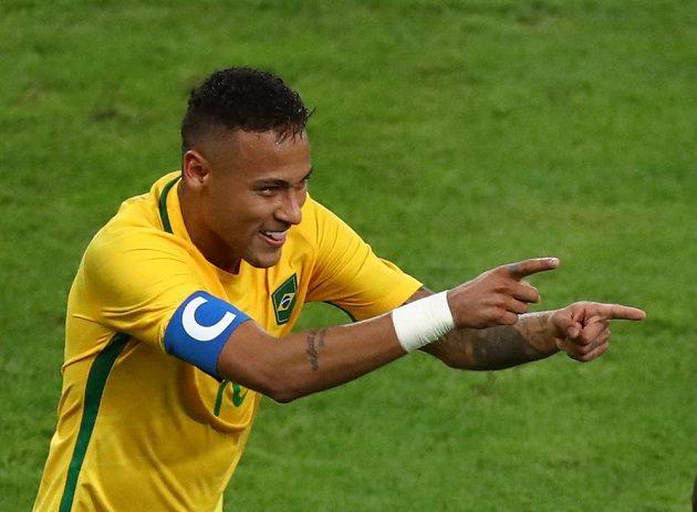 Neymar rozjásal Brazílii, dal vedoucí gól domácích ve finále s Německem.