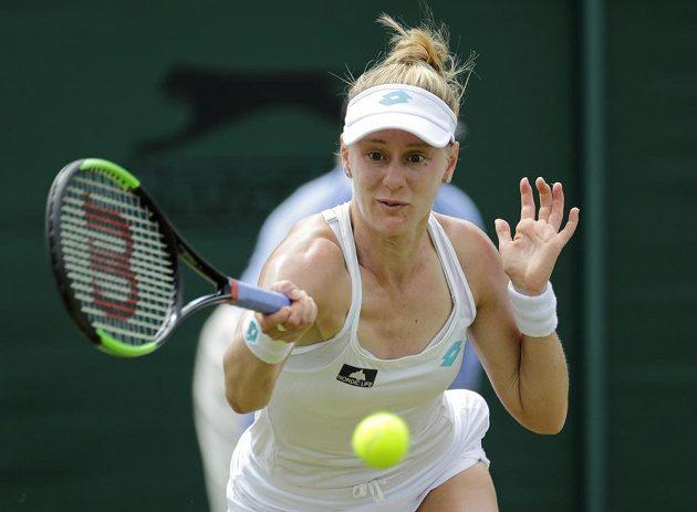 Američanka Alison Riskeová se v osmifinále Wimbledonu postarala o senzaci.