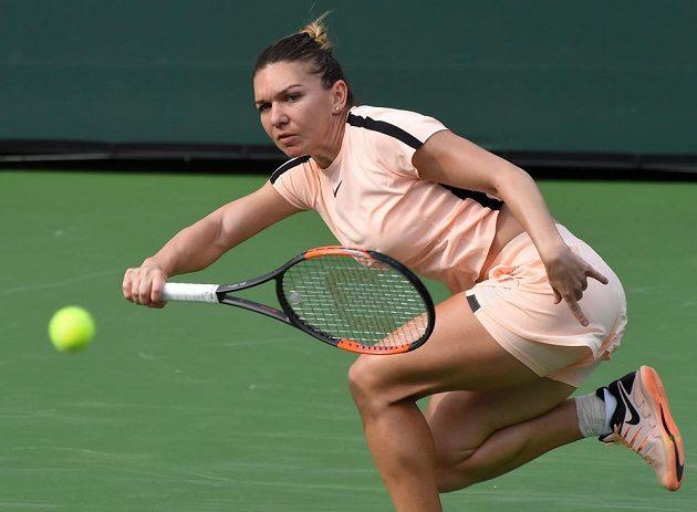 Rumunská tenistka Simona Halepová vyřadila na turnaji v Indian Wells českou hráčku Kristýnu Plíškovou.