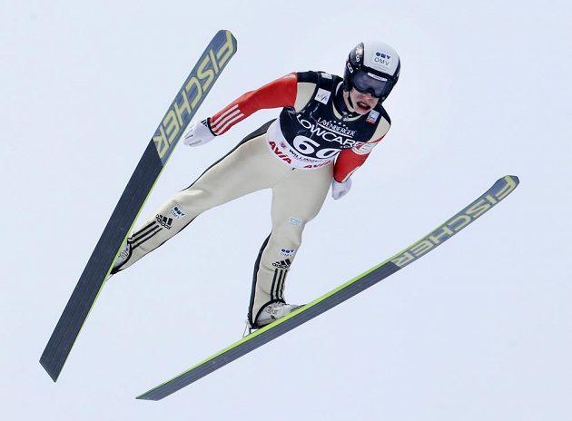 Skokan na lyžích Roman Koudelka skončil v neděli ve Willingenu na třetím místě.