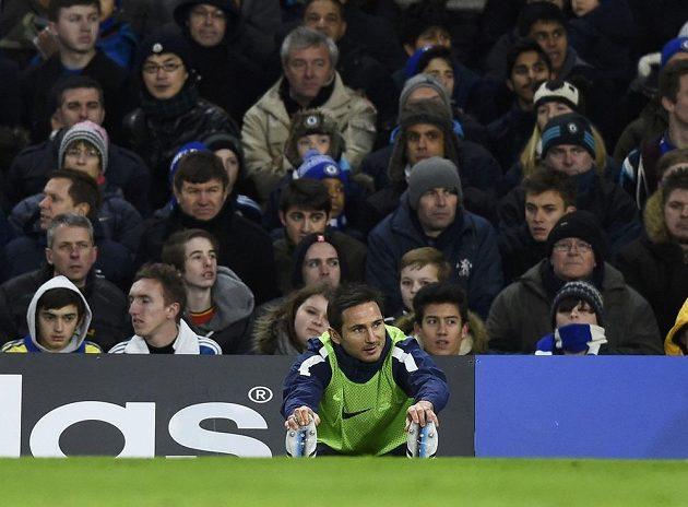 Frank Lampard se na Stamford Bridge poprvé ocitl jako soupeř.