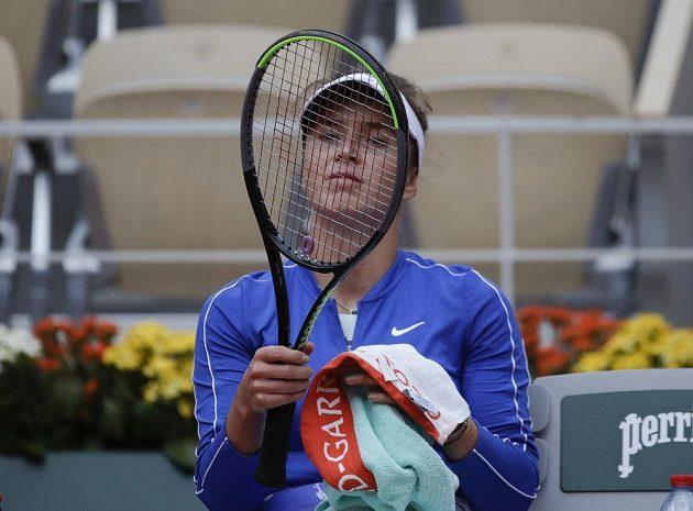 Ukrajinská tenistka Elina Svitolinová do semifinále French Open neprošla.