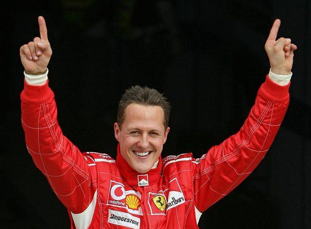 Sedminásobný šampión formule 1 Michael Schumacher zažil největší úspěchy s ferrari.