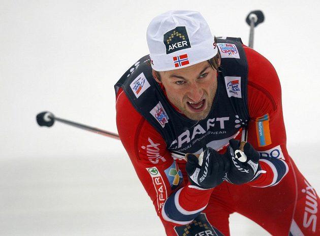 Petter Northug při letošním SP ve Val di Fiemme.