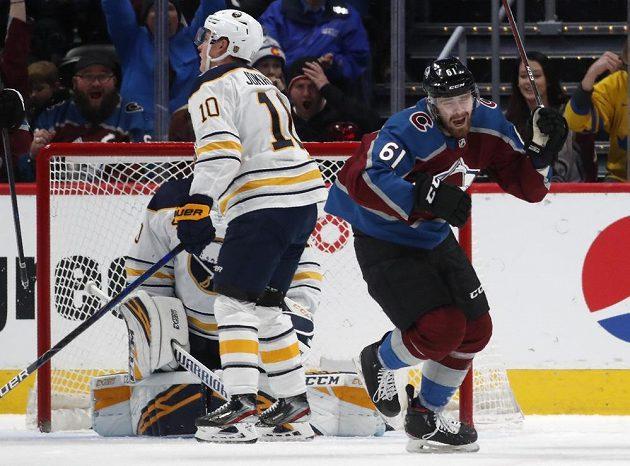 Je to tam! Útočník Colorada Martin Kaut se dočkal gólu v NHL.