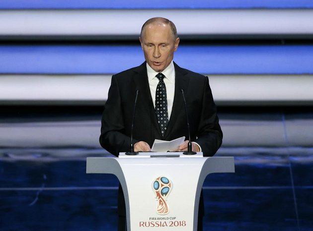Úvodní projev přednesl ruský prezident Vladimir Putin.
