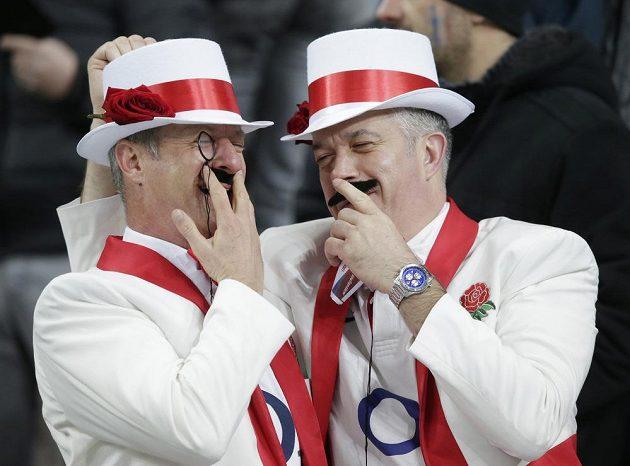 Fanoušci Anglie se radují...
