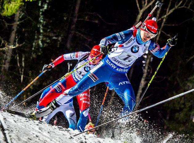 Česká biatlonistka Veronika Vítková nemohla být se svým výkonem ve smíšené štafetě spokojená. Musela na trestné kolo.